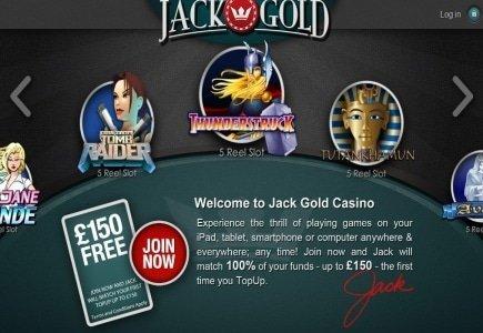 Microgaming Quickfire Content for Locus Gaming's Jack Gold Casino!