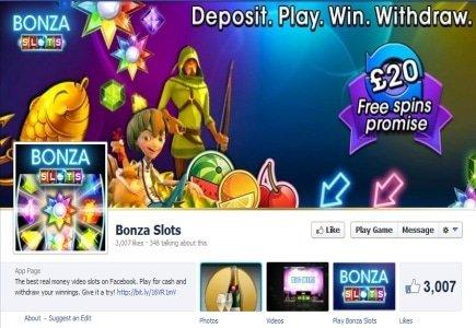 NetEnt's Mega Fortune Slot Goes Live on Facebook via Bonza Gaming