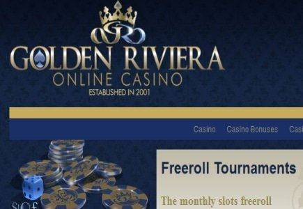 Golden Riviera Casino announces May FreeRoll Tournament