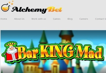 AlchemyBet Launches Bar King Mad Mobile Slot