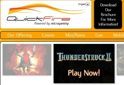 Quickfire and Novigroup Limited in Content Supply Deal
