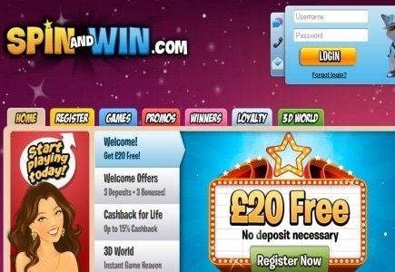 New Winners @ Spin and Win Casino