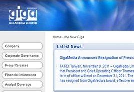 GigaMedia to Enter Social Gambling Market