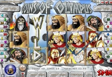 Rival Launches Coins of Olympus