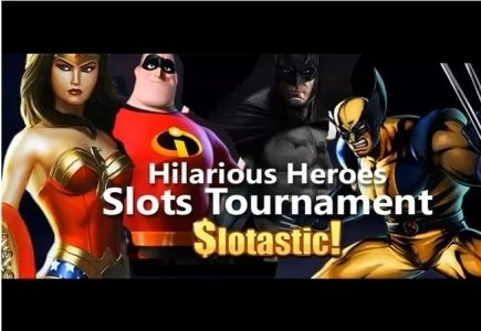 Hilarious Heroes Freeroll Tournaments Start at Slotastic