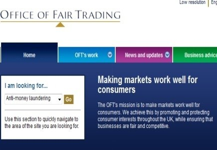 New Guidelines for British Office of Fair Trading