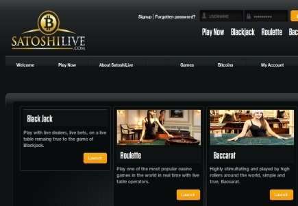 Online Bitcoin Casino Operator Introduces Live Dealers