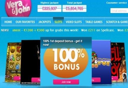 Mega Wonder Jackpot Win at Vera & John Casino