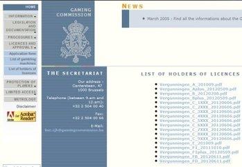 15873 lcb 67k bf 6 belgian gaming commission