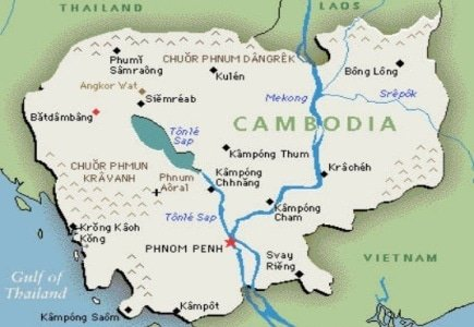 Cambodian Gambling Bust