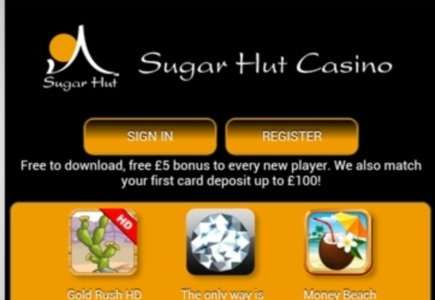 Sugar Hut Mobile Casino Launches