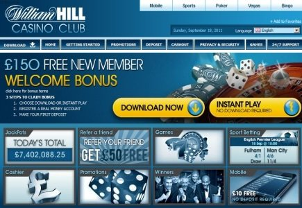 Will Hill's Ad Account Worth £15 Million