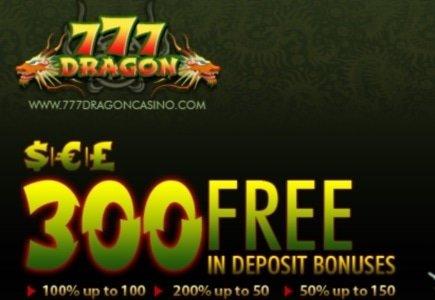 777 Dragon Casino Get a Makeover and Improves Welcome Bonus