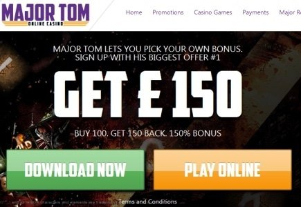 Major Tom Casino Launches