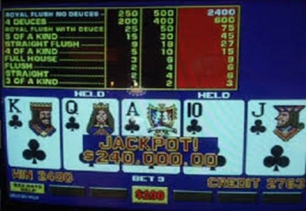 Video Poker Fumbles and Triumphs
