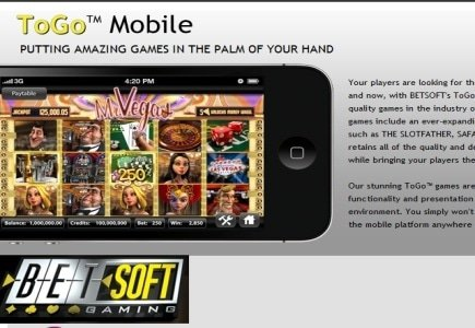 BetSoft Releases New ToGo Slots