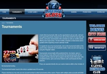 Still Time to Enter Liberty Slots' Hot Shots Slot Tourney