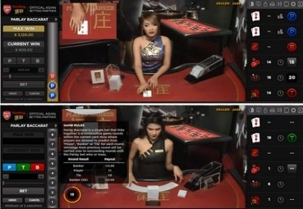Bodog Live Deal Casino Launches Parlay Baccarat