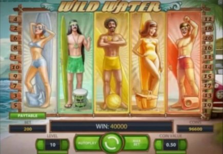 NetEnt Releases Wild Water Slot Game