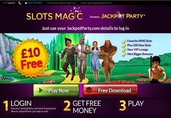 Jackpot Party Casino Acquired by SkillOnNet and Renamed Slots Magic