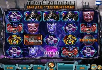 IGT's Launches TRANSFORMERS on its Social Casino