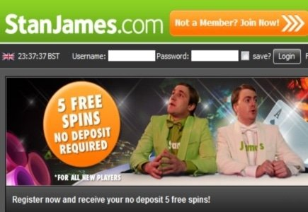 Stan James Player Wins GBP 25K with Free Spins