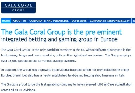 Gala Coral Takes on Corporate Affairs Directors