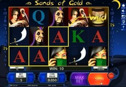 Win A Day Releases Sands of Gold