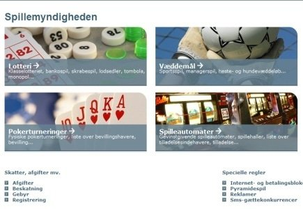 Five Online Casinos Blocked by Danish Gambling Authority
