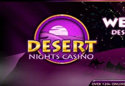 Enormous 83k Progressive Jackpot Win for Desert Nights Casino Player