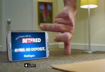 Betfred Mobile Advert Launches in the UK