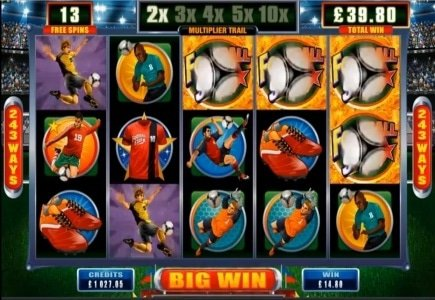 Microgaming's New Football Star Game to Offer Trip to Brazil
