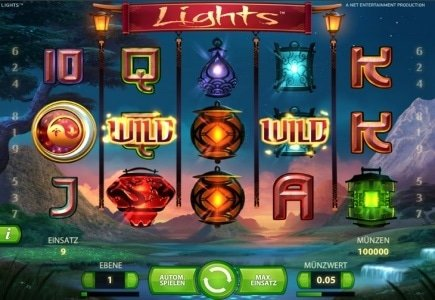 NetEnt's Lights Slot Game Officially Launches