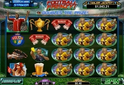 Football Frenzy Now Available at Springbok Casino