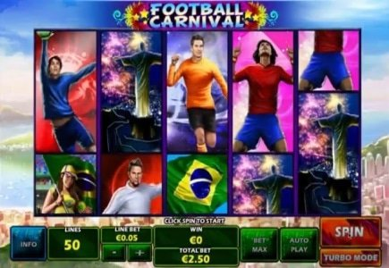 New Playtech Slot Game: Football Carnival