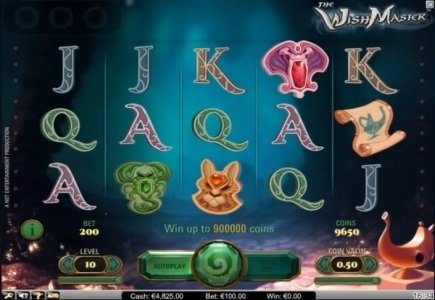 NetEnt Launches WishMaster Video Slot Game