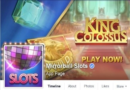 New Slots Launch on Mirrorball Facebook App