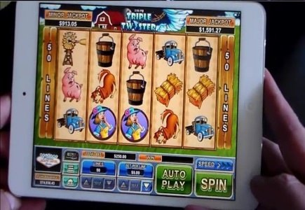 Triple Twister Added to Mobile Gaming Library at Jackpot Capital Casino