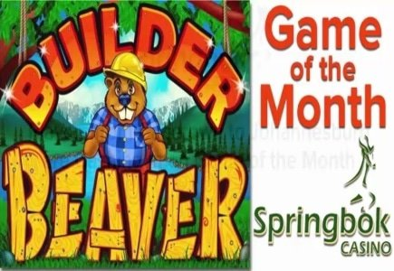 Springbok Casino Features 'Builder Beaver' as its Game of the Month