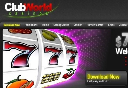 String of Wins at Club World Casino Amounts to a Massive $631,421