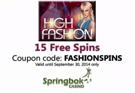 Realtime Gaming's New High Fashion Slot Available Exclusively at Springbok Casino