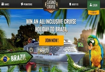 FULL STEAM AHEAD FOR CASINO CRUISE
