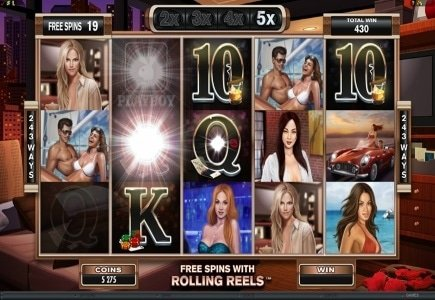 Crazy Vegas Launches Multi-Player Playboy and Brand New Bonus Offers
