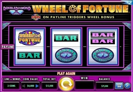 IGT Releases WOF Triple Extreme Spin on DoubleDown Casino