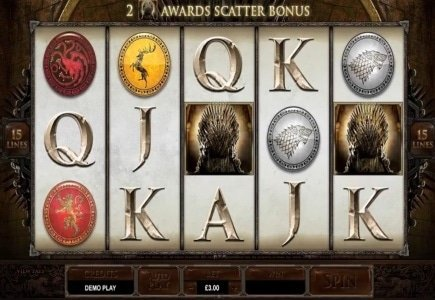 Microgaming's Game of Thrones Slot is Live