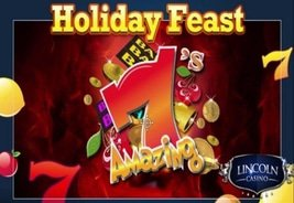 $50,000 Holiday Feast Slots Tournament All Month Long at Lincoln and Liberty Slots Casinos