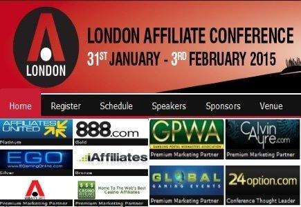 2015 London Affiliate Conference Sponsors Revealed