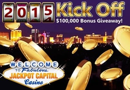 $100,000 New Year Giveaway at Jackpot Capital Casino