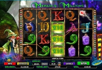 Merlin's Millions Superbet™ Available at Paddy Power