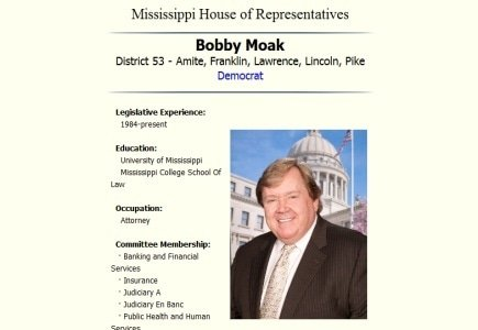 Proposal Denied for the Fourth Time for the Mississippi Online